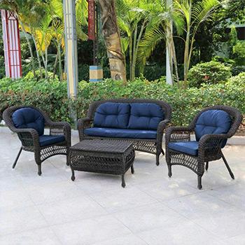 Комплект мебели Афина LV 520 BB Brown/Blue