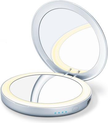 лучшая цена Зеркало компактное двустороннее Beurer BS 39 Powerbank