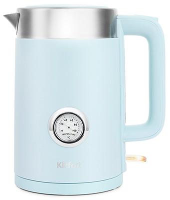 Чайник электрический Kitfort KT-659-3 голубой