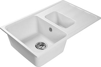 Кухонная мойка Lex Maggiore 780 White мойка lex orta 620 rule000026