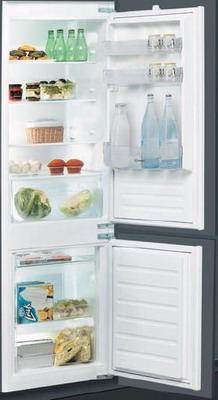 Встраиваемый двухкамерный холодильник Indesit BIN 18 A1 DIF indesit b 18 a1 d i