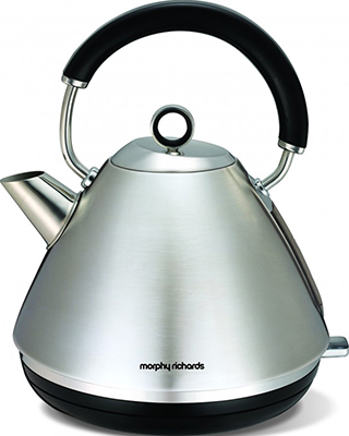 Чайник электрический Morphy Richards Accents Pyramid Brushed 102022EE