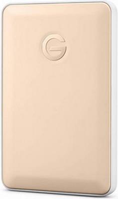 Внешний жесткий диск (HDD) Western Digital USB-C 1000Gb 0G04843 G-Tech G-Drive Mobile (7200rpm) 2.5'' золотистый