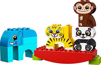 Конструктор Lego Мои первые цирковые животные 10884 цена