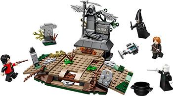 Конструктор Lego Harry Potter TM Возвращение Лорда Волан-де-Морта 75965