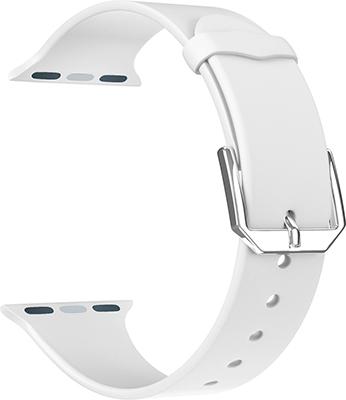 Фото - Ремешок для часов Lyambda для Apple Watch 42/44 mm ALCOR DS-APS08C-44-WT White lyambda силиконовый ремешок alcor для apple watch 42 44 mm green