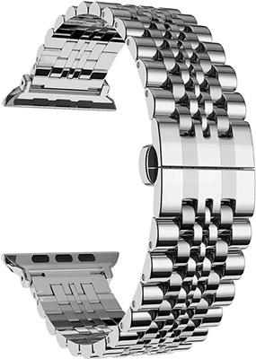 цена на Ремешок для часов Lyambda для Apple Watch 42/44 mm CASTOR DS-APG-04-44-SL Silver