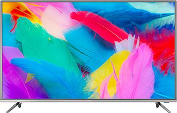 Фото - 4K (UHD) телевизор Hyundai H-LED50EU7001 стальной 4k uhd телевизор hyundai h led50eu7001 стальной