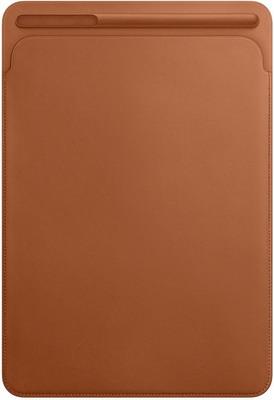 Чехол для планшетов Apple Leather Sleeve для iPad Pro 10 5'' (Saddle Brown) золотисто-коричневый MPU12ZM/A аксессуар чехол uniq yorker kanvas для apple ipad pro 10 5 grey pdp105ykr knvgry