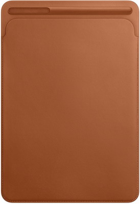 Чехол для планшетов Apple Leather Sleeve для iPad Pro 10 5'' (Saddle Brown) золотисто-коричневый MPU12ZM/A