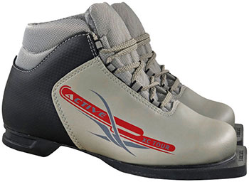 Ботинки лыжные Marax 75мм М350 ACTIVE серебро р.43 M350 Active 43 sil marax m350 comfort