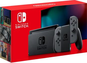 Портативная игровая приставка Nintendo Switch серый nintendo switch серый