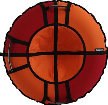Тюбинг Hubster Хайп красный-оранжевый 100 см во5560-2 цена