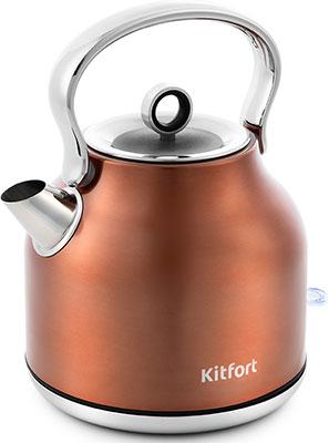 Чайник электрический Kitfort KT-671-5 чайник росинка эч 0 5 0 5 220 beige