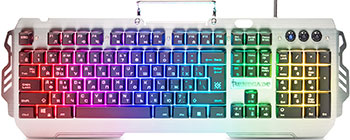 Фото - Проводная игровая клавиатура Defender Renegade GK-640DL RU RGB подсветка 9 режимов (45640 клавиатура проводная defender gk 280dl ru usb черный 45280
