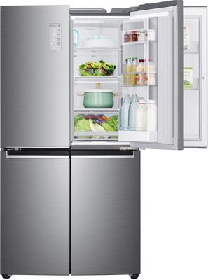 Многокамерный холодильник LG GR-M 24 FTLHL цена 2017