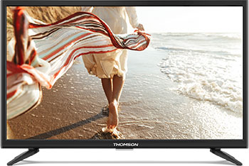 Фото - LED телевизор Thomson T24RTE1280 ноутбук hp 15 rb033ur 4us54ea amd a6 9220 2 5 ghz 4096mb 500gb dvd rw amd radeon r4 wi fi bluetooth cam 15 6 1366x768 dos