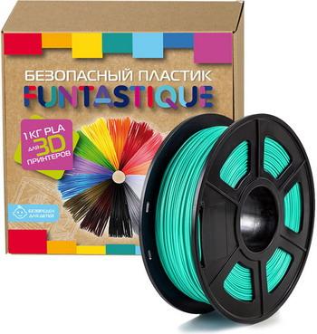 PLA-пластик в катушке Funtastique PLA-1KG-SW (PLA 1.75 мм 1 кг бирюзовый)