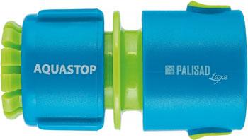 Фото - Соединитель Palisad пластмассовый быстросъемный LUXE 66472 соединитель для полива palisad латунный быстросъемный аквастоп 66265