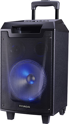 Музыкальный центр Hyundai H-MC260 черный