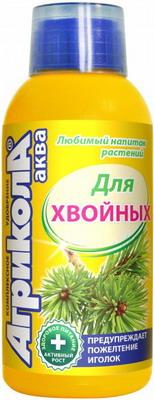 Фото - Удобрение Агрикола Аква для хвойных растений 250 мл 04-126 микроудобрение агрикола аква для цветущих растений флакон250мл 04 442