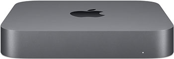 Настольный компьютер Apple Mac Mini (MRTT2RU/A) Slim-Desktop Space Gray настольный компьютер lenovo ideacentre 510s 07icb intel core i3 8100 3600 mhz 4gb 1000gb dvd rw intel uhd graphics 610 no os