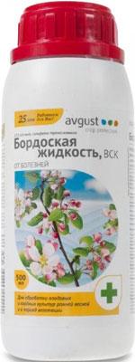 Препарат от болезней Avgust Бордоская жидкость ВСК флакон 500 мл A00299