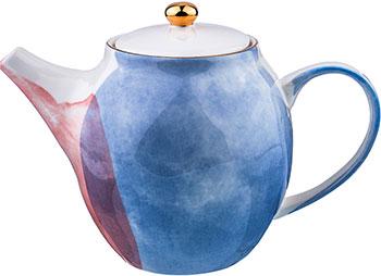 Фото - Чайник заварочный Lefard 1000 мл ''Парадиз'' многоцветный 189-218 фарфоровый заварочный чайник паркур 1000 мл