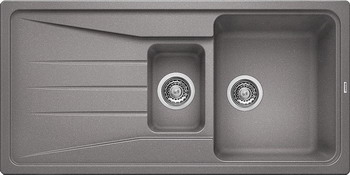 Кухонная мойка BLANCO SONA 6S SILGRANIT алюметаллик blanco sona 6s silgranit антрацит