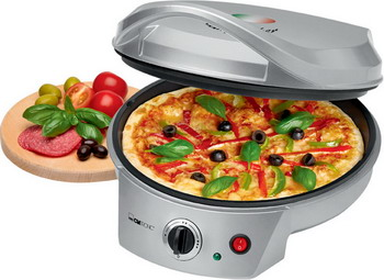 лучшая цена Пицца мейкер Clatronic PM 3622 silber