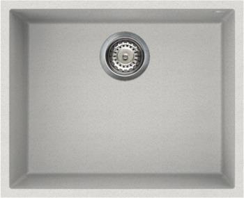 Кухонная мойка OMOIKIRI Bosen 54-U-WH Tetogranit/белый (4993164) кухонная мойка omoikiri bosen 54 u wh 540х440 белый 4993164