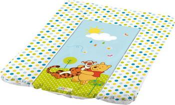 Пеленальный матрас ОКТ Винни Пух белый 50х70 матрас для пеленания окт весёлая ферма зелёный 8725