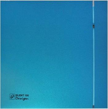 Вытяжной вентилятор Soler & Palau Silent-100 CZ Blue Design 4C (синий) 03-0103-166
