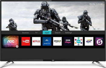 все цены на 4K (UHD) телевизор AOC 50 U 6085/60 S онлайн