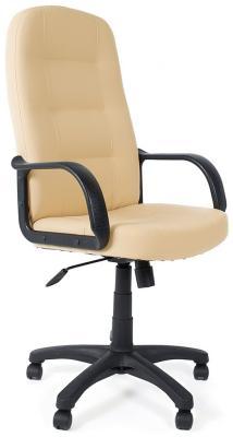 Кресло Tetchair DEVON (кож/зам бежевый бежевый перфор. 36-34/36-34/06) кресло компьютерное tetchair оксфорд oxford доступные цвета обивки искусств корич кожа искусств корич перфор кожа