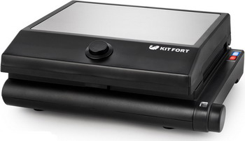 Электрогриль Kitfort КТ-1632 электрогриль kitfort кт 1652 2000вт черный