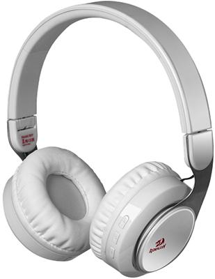 Фото - Беспроводная Bluetooth-гарнитура Redragon Sky W белый 64212 кеды мужские vans ua sk8 mid цвет белый va3wm3vp3 размер 9 5 43