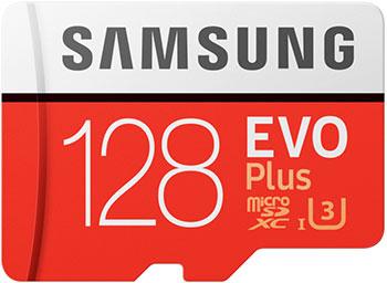 Фото - Карта памяти Samsung microSDXC 128Gb Class10 EVO+ с адаптером MB-MC128HA/RU карта памяти samsung microsdxc evo v2 128gb adapter mb mc128ga ru