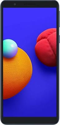 Смартфон Samsung Galaxy A01 Core SM-A013F 16Gb 1Gb синий смартфон samsung galaxy a01 core 1 16gb красный