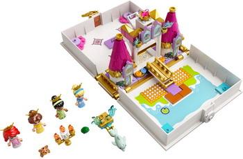 Конструктор Lego Princess ''Книга сказочных приключений Ариэль Белль Золушки и Тианы'' 43193 конструктор lego disney princess 43176 книга сказочных приключений ариэль