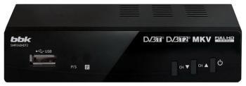 купить Цифровой телевизионный ресивер BBK SMP 240 HDT2 чёрный онлайн