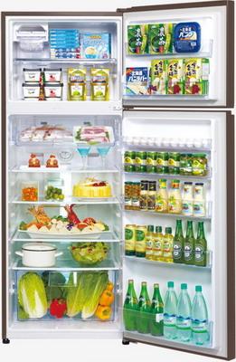 Двухкамерный холодильник Panasonic NR-B 510 TG-T8 коричневый