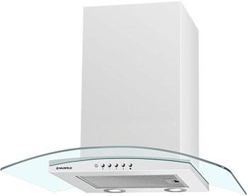 лучшая цена Вытяжка MAUNFELD ANCONA PLUS 60 (C) Белый/прозрачное стекло