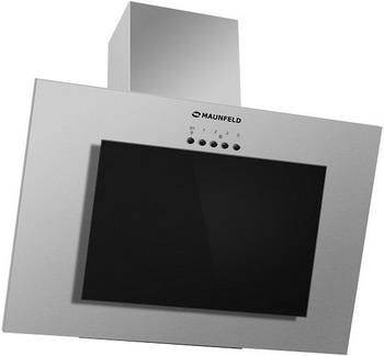 все цены на Вытяжка MAUNFELD TOWER GS 90 Нержавейка/Черное стекло онлайн