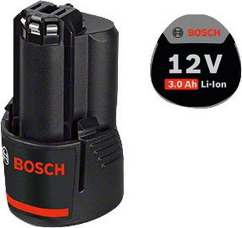 Аккумулятор Bosch GBA 12 V 3.0Ah Professional 1600 A 00 X 79 зарядное утройство bosch gax 18 v 30 1600 a 011 a9
