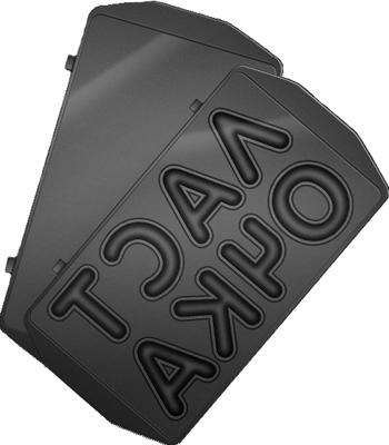 Панель для мультипекаря Redmond RAMB-38 (Ласточка) (Черный)
