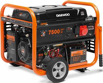 Электрический генератор и электростанция Daewoo Power Products GDA 8500 E-3 электрический генератор и электростанция daewoo power products gda 8500 e 3