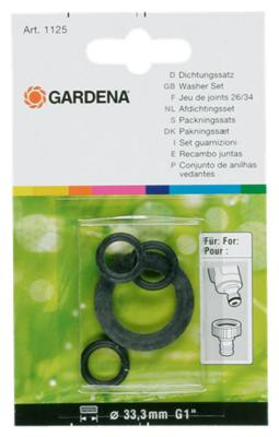 Комплект прокладок Gardena для арт. 902/2902 01125-20 стоимость