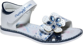 Фото - Туфли открытые Тотошка NS 737-8 35 размер цвет белый ботинки детские тотошка цвет синий n 630a b размер 32