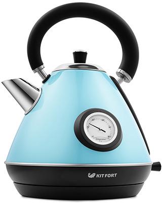 Чайник электрический Kitfort КТ-644-1 голубой